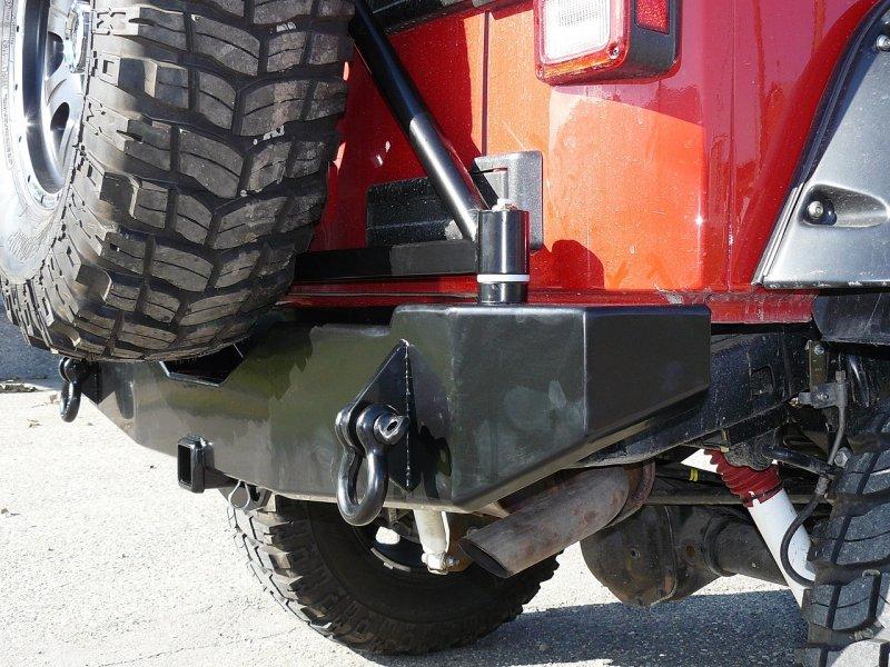 Jeep Wrangler Bumper Hitch Amp Tire Carrier Burr Fabrication