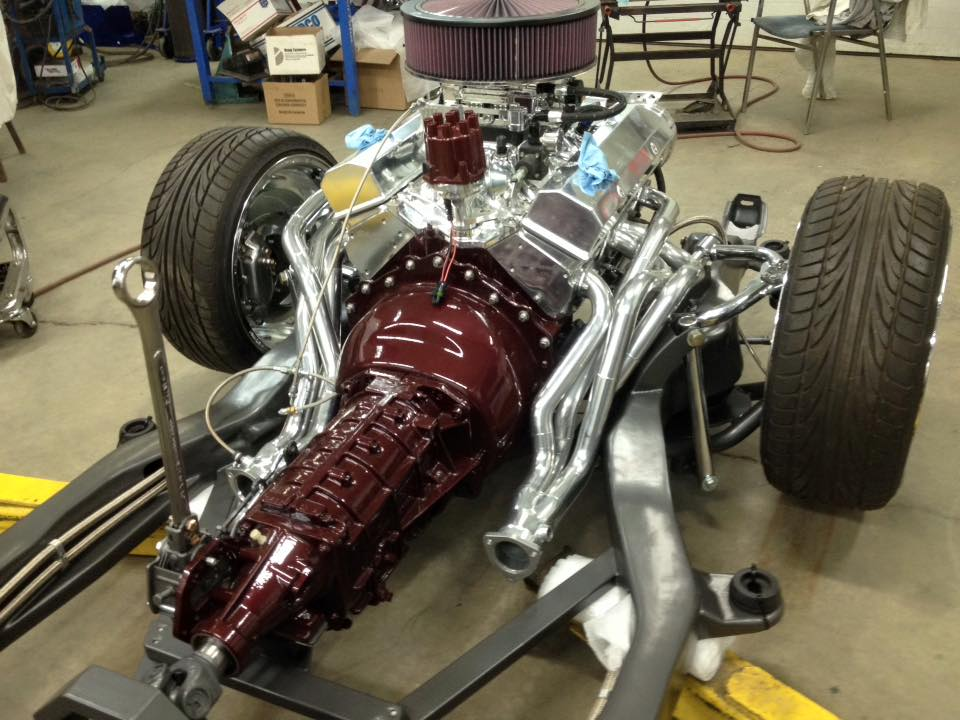 Custom S10 Chassis, V8, Bagged and Body Dropped   Burr Fabrication