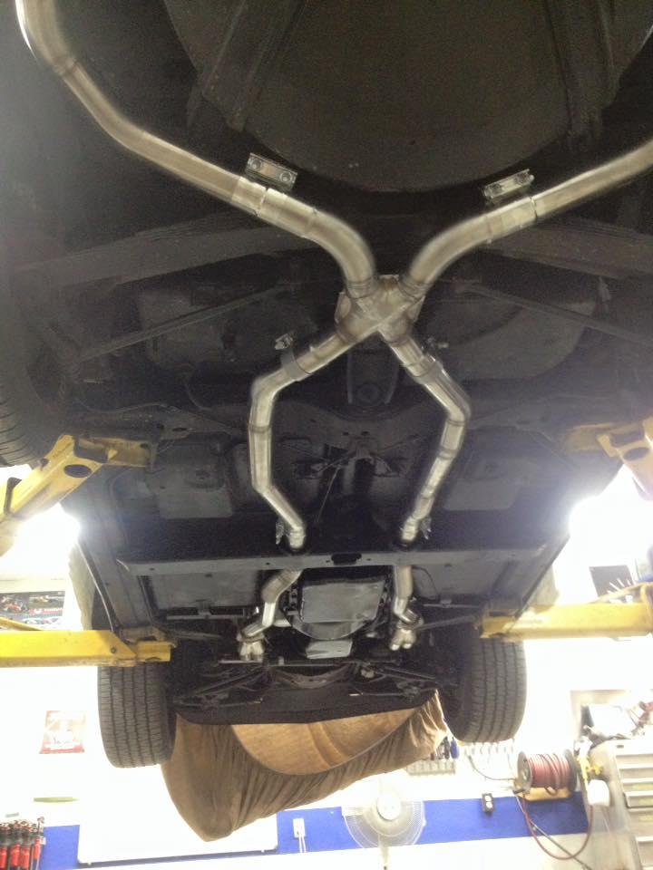 Custom Exhaust C3 Corvette Burr Fabrication